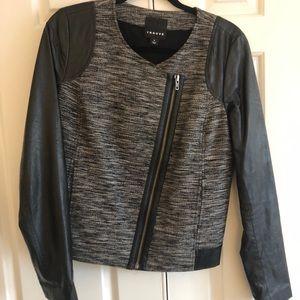 TROUVE faux leather jacket